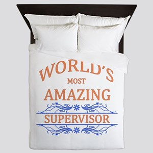 Supervisor Queen Duvet